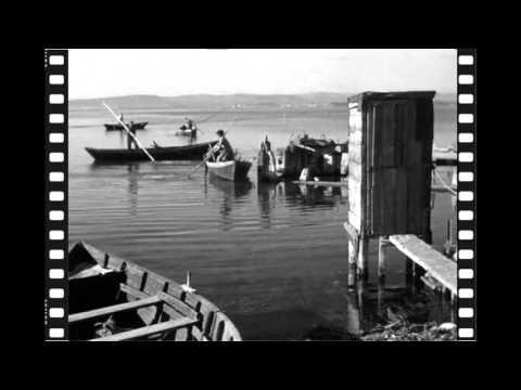 La Pointe Courte à Sète en 1955