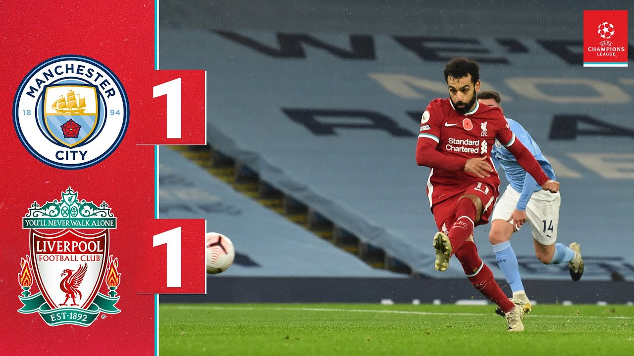 Download Highlights: Man City 1-1 Liverpool | Salah scores from the spot in draw