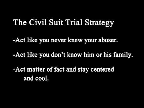 DOMESTIC VIOLENCE #6 of 11  Your Civil Suit Trial Strategy