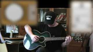 The Green Green Grass Of Home - Tom Jones - Acoustic Guitar Lesson (easy)