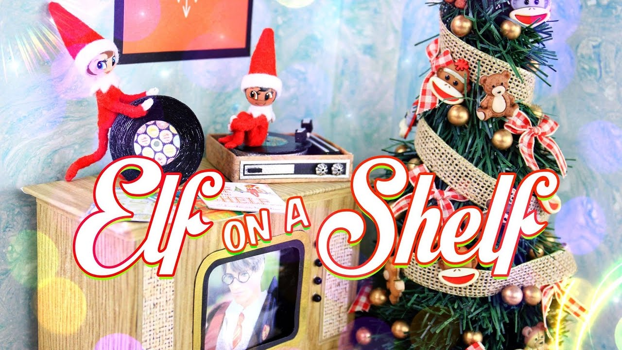 Diy how to make holiday craft elf on a shelf for Elf shelf craft show
