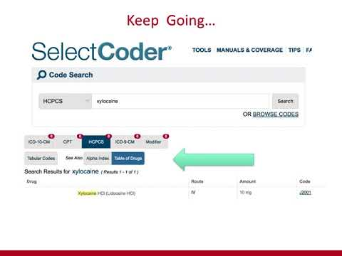 Coding HCPCS Level II from Cases usingSelectCoder