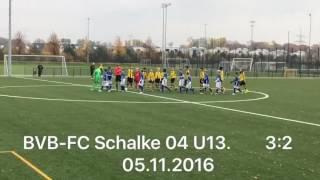 BVB gegen Schalke 04 U13