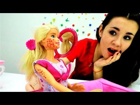 #Мультики Барби и Игры для девочек: Лечим сыпь у #Barbie. Игры доктор
