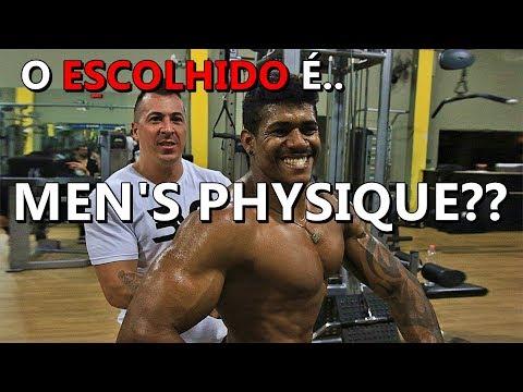 TREINO DE MEN'S PHYSIQUE   O ESCOLHIDO