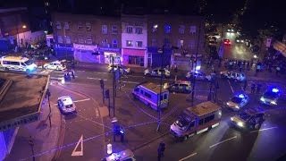 Report  Vehicle hits pedestrians in London