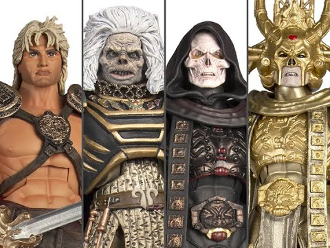 Masters Of The Universe Classics William Stout Collection Movie Figures Live Unboxing & Review