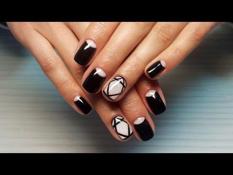 Рисунки на ногтях 5. Дизайн ногтей видео уроки.
