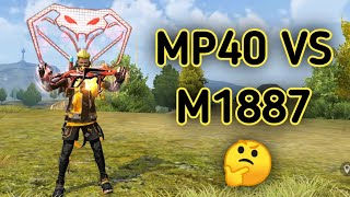 NEW EVO MP40 VS M1887 🔥 || WHICH IS BEST 🤔 !!!!