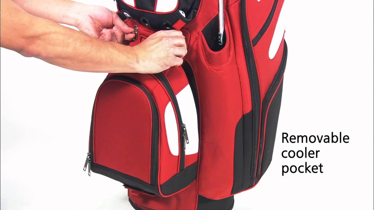 Bag Boy Revolver Le Cart Bag Demo Youtube
