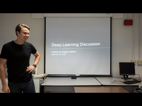 Lecture on Deep Learning & Caffe at SDSU