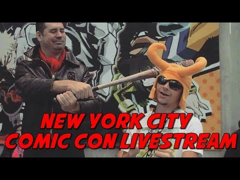 New York City Comic Con Livestream Ft zeromatter128
