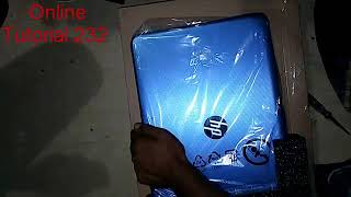 Unboxing HP intel celeron N3060 Laptop