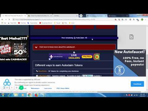 Repeat Auto Claim Dogecoin   Cool Time Auto Faucet by