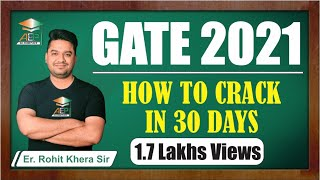 GATE 2019| How to crack gate in 30 days | GATE 2019 | last minute tips | how to prepare for  GATE