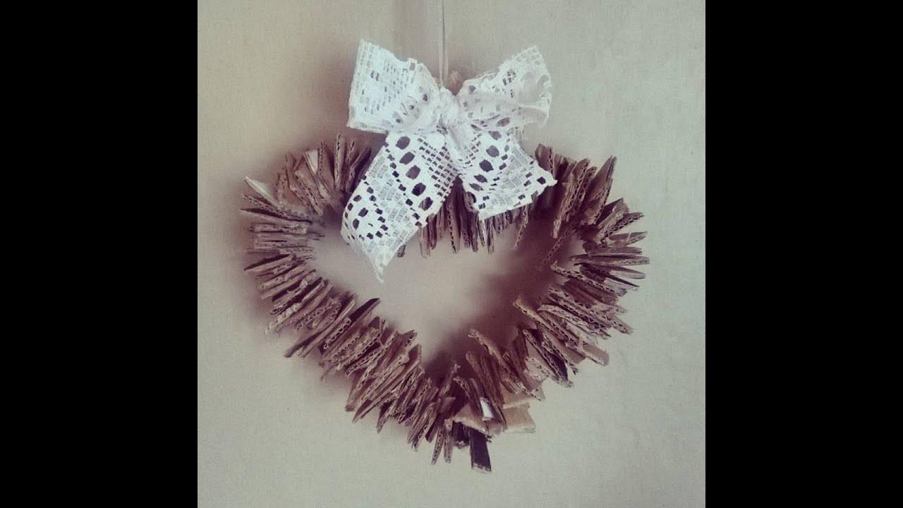 Jak zrobić wianek w kształcie serca na walentynki