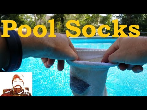 Pool Socks Or How To Get Iron Out Of Your Pool