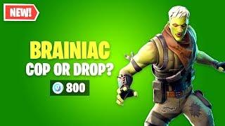 Fortnite BRAINIAC Skin Worth it? Cop or Drop?
