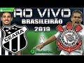 Ceará 0x1 Corinthians + São Paulo 2x1 Internacional | Brasileirão 2019 | Parciais Cartola FC