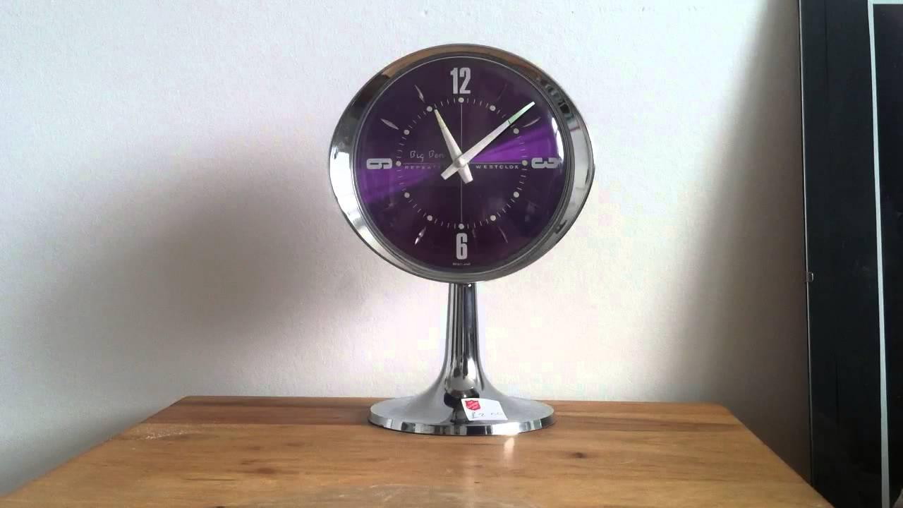 Westclox Big Ben Repeater Alarm Clock 1979 Youtube