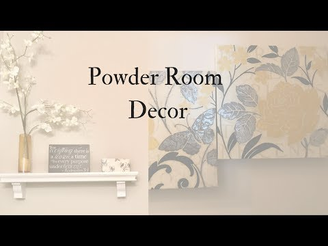 Powder Room Decor