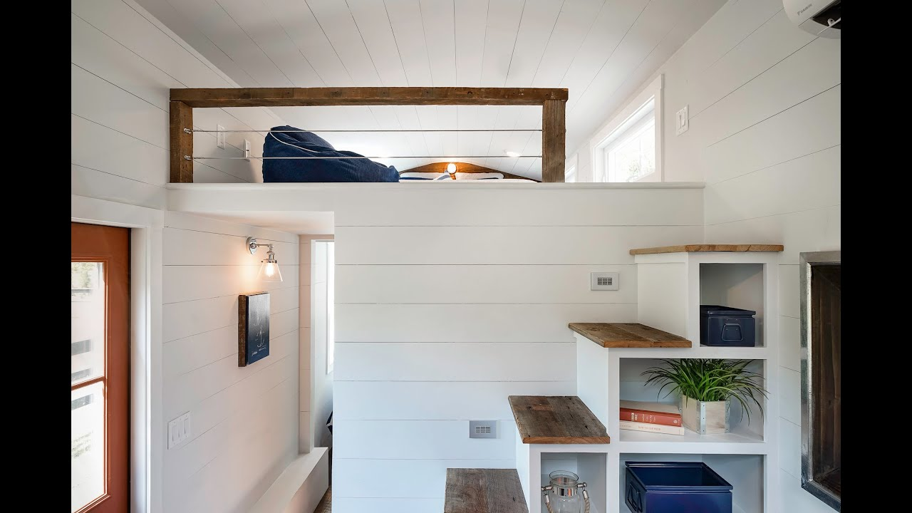 Tiny Home Designs: No Corners Cut In This Tiny House By Driftwood Tiny Homes