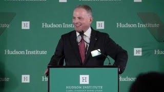 Hudson Institute President & CEO Kenneth R. Weinstein before the 2015 Global Leadership Award Dinner