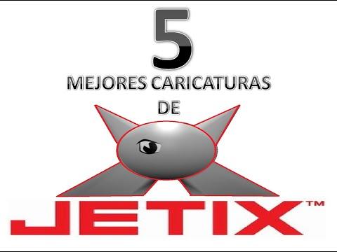 LAS 5 MEJORES CARICATURAS TRANSMITIDAS POR JETIX