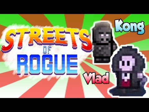 Streets of Rogue Vampire and Gorilla with Litanah #streetsofrogue |