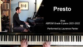 A:2 Presto (ABRSM Grade 5 piano 2021-2022)