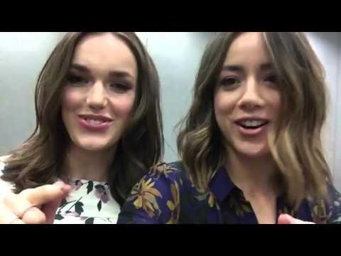 Elizabeth Henstridge and Chloe BennetBenstridgeSkimmons's shippers