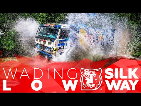 Wading low: SWR2018 pilots cross a river | Silk Way Rally 2018🌏