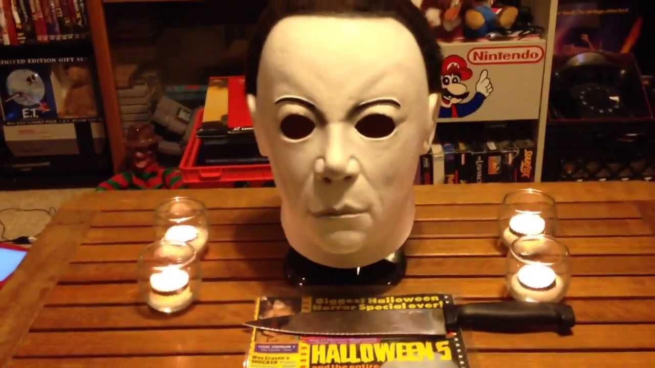 Halloween 8 Resurrection Mask - YouTube
