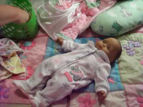Bitty Baby Peyton Changing Video November 2014