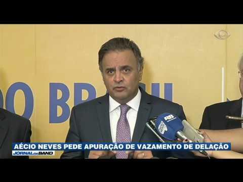 Aécio Neves nega ter recebido dinheiro da Odebrecht no exterior