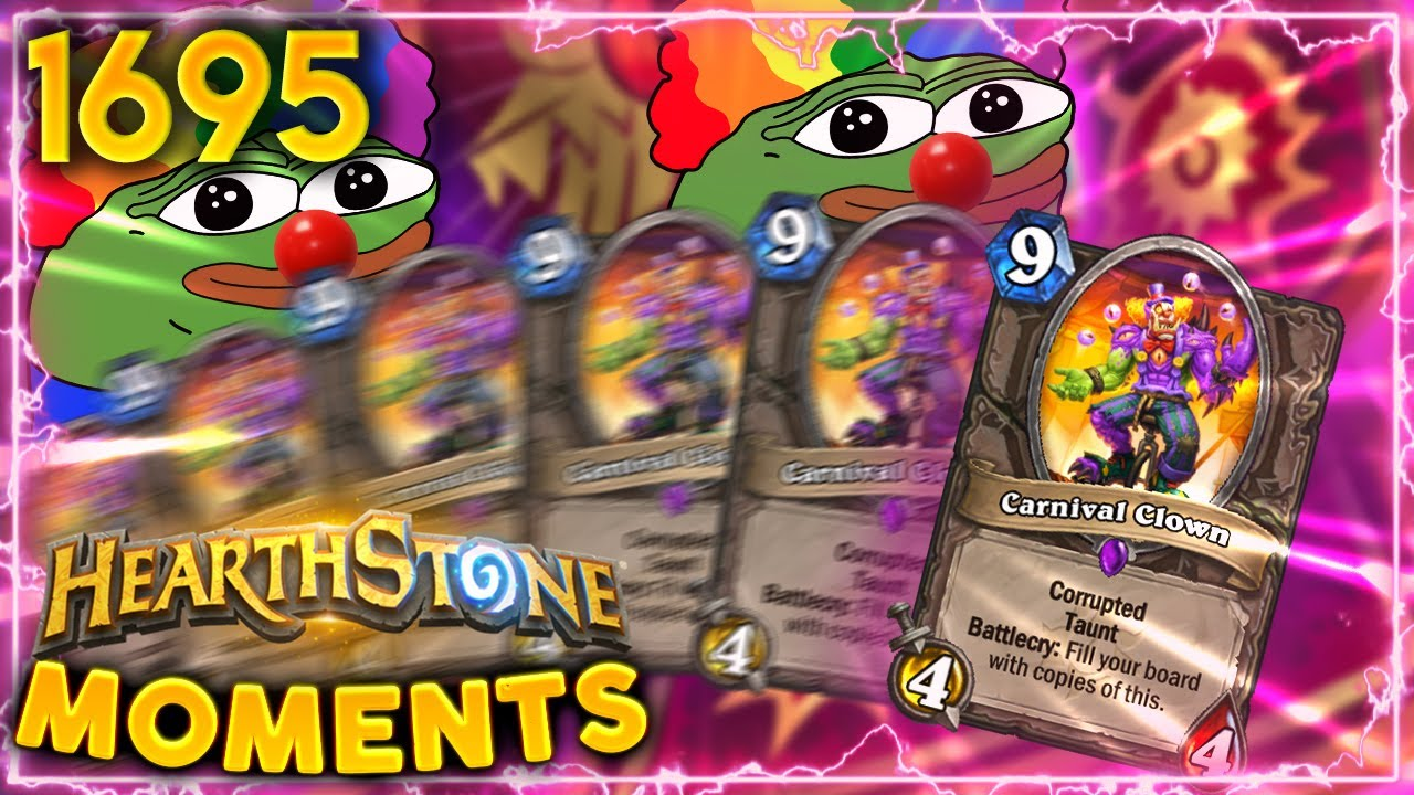 ENDING The Clown Fiesta For Once And ALL | Hearthstone Daily Moments Ep.1695