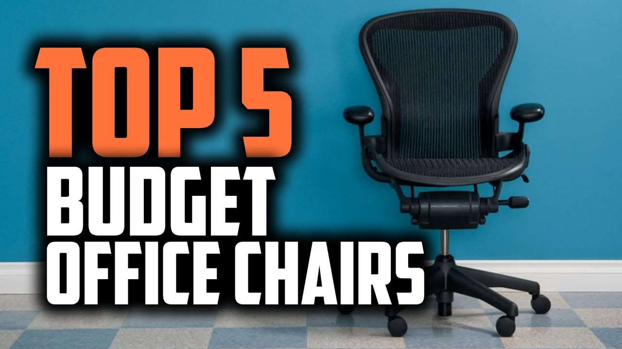 Best Budget Office Chairs In 2019 Ergonomic Cheap Options Youtube