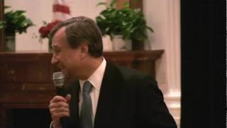 Edward F. Cox gives toast to President Nixon