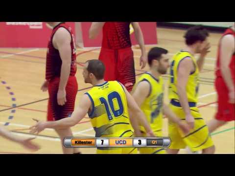 Basketball FULL GAME: Pyrobel Killester vs UCD Marian