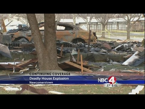 Deadly house explosion in Newcomerstown
