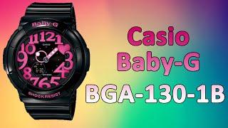 Стильные женские часы Casio Baby-G BGA-130-1B(Купить наручные часы Casio Baby-G BGA-130-1B Вы можете здесь: http://megatube.pro/?p=225 красивые часы женские часы купить женски..., 2015-03-26T11:17:57.000Z)