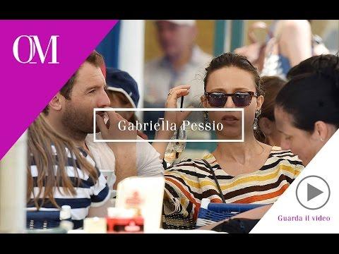 OMG03 Opinione Moda - Glamour Shuttle - Portofino - Gabriella Pessio con il futuro marito
