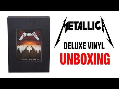 Metallica's Master Of Puppets - Vinyl Box Set - Unboxing