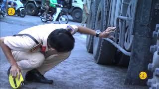 An Giang, va chạm với xe tải, 1 phụ nữ tử vong tại TP Long Xuyên