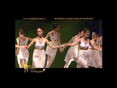 "Greek folk dance Sirtaki""Fouette' Russian Classic Ballet"" 2011"