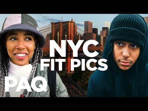 ICONIC NYC Fit Pic Challenge! | PAQ Ep #76 | A Show About Streetwear And Fashion