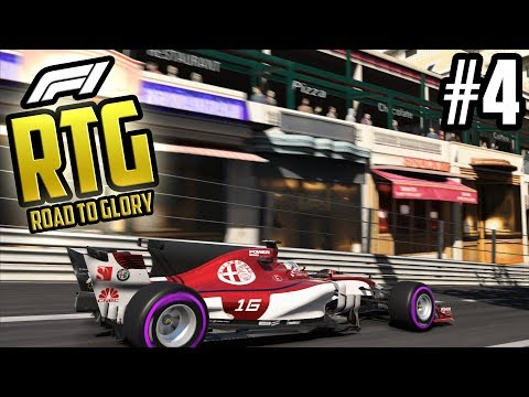 F1 2017: Road To Glory #4 - A MONACO MIRACLE?