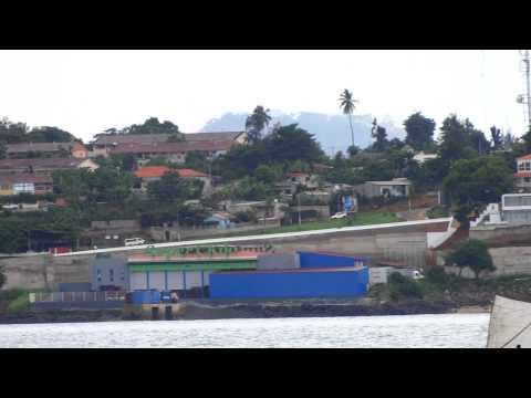 Sao Tome island west africa