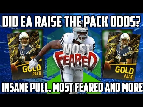 Madden Mobile 17 INSANE PULL!! MOST FEARED PROMO CONCEPTS, AND FOOTBALL OUTSIDERS INFO!