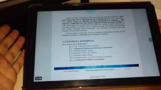 Como estudar pelo Tablet - Galaxy Tab A 10.1 - Melhores Aplicativos e S-pen - A6 P585